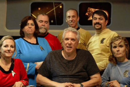 The story BEHIND THE PURCHASE of the STAR TREK CONTINUES sets!